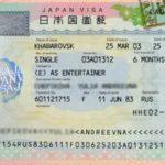 Какие требования к получению визы в Японию для россиян в 2019 году